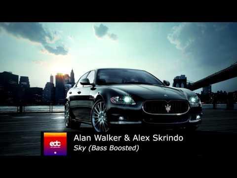 Alan Walker & Alex Skrindo - Sky Bass Boosted