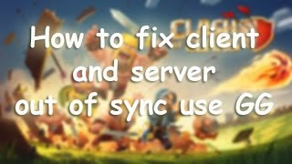 How to FIX Client and Server out of sync use GG