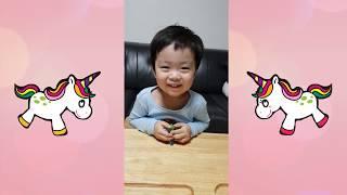 32개월때 지환이의 키즈유튜버 시작 귀여움주의  Jihwan's Kids YouTuber starts at 32 months old