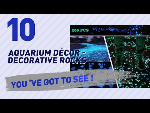 Top 10 Aquarium Décor - Decorative Rocks // Pets Lover Channel Presents: