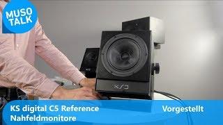 KS digital C5 Reference Nahfeld Studio Monitore - Vorgestellt