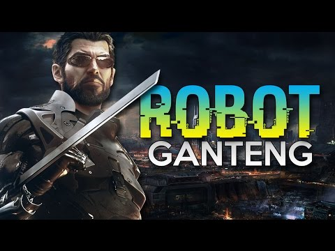 Deus Ex Mankind Divided - ROBOT GANTENG !! - Momen Lucu Deus Ex