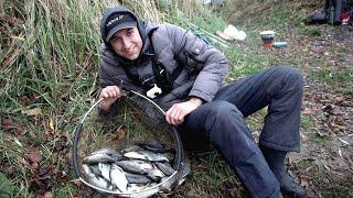 Рыбалка Осенью на Фидер. Ловля на фидер в ноябре 2019.