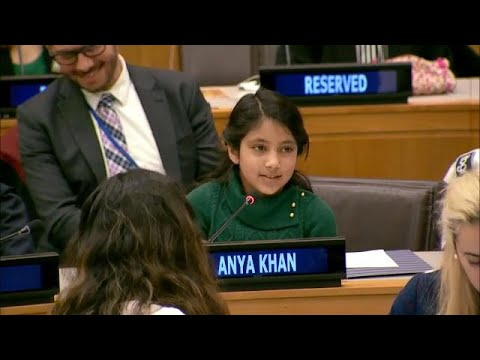 Powerful Speech by 10 year old on Artificial Intelligence & Empathy – Girls in Science