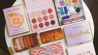 BEST AND WORST NEW EYESHADOW PALETTES 2018!