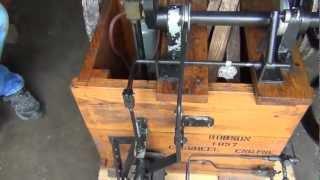 Wooden Framed Internal Combustion  Engine