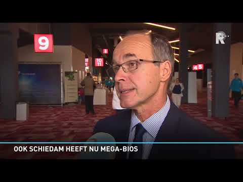 Rondleiding door net geopende megabioscoop Schiedam