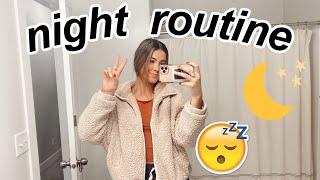 my night routine 2020  Alyssa Mikesell