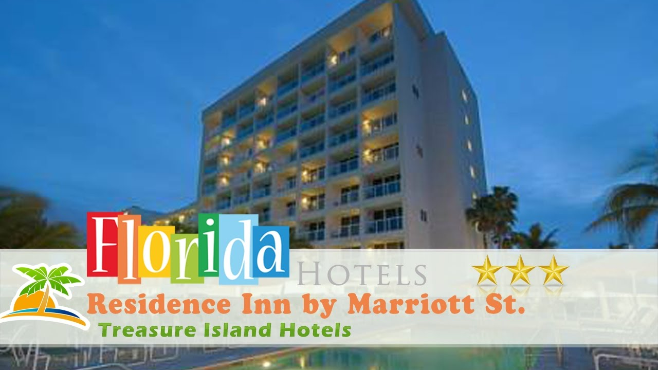 Residence Inn By Marriott St Petersburg Treasure Island Hotels Florida