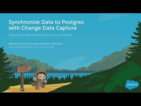 Synchronize Data to Postgres With Change Data Capture