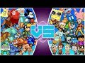 Disney Vs Nickelodeon | Official Animation | Rewind Rumble