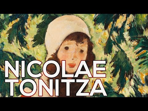 Nicolae Tonitza: A Collection Of 98 Paintings (HD)