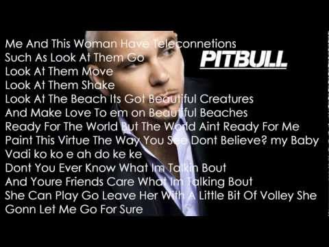 Taio Cruz ft. Pitbull - There She Goes Lyrics HD (Prod. by RedOne)