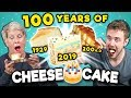 Generations react to 100 years of cheesecake national cheesecake day mp3