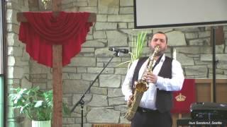 Cand oceanele cumplit vuiesc(la saxofon) - Dumitru Budac