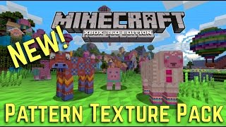 Minecraft Xbox 360 / PS3 - Pattern Texture Showcase