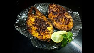 SURMAI FISH FRY   KING FISH  FRY   SPICY AND DELICIOUS