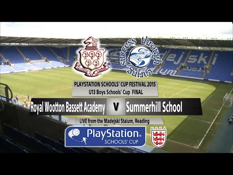 Full Match  U13 Boys Royal Wootton Bassett Academy v  Summerhill School
