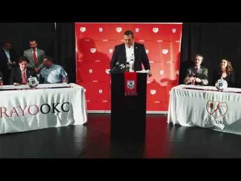 Press conference: Rayo OKC is coming to the Oklahoma City metro