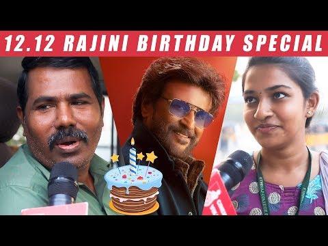 Chennai People Question to Rajini on His Birthday  | Petta Teaser