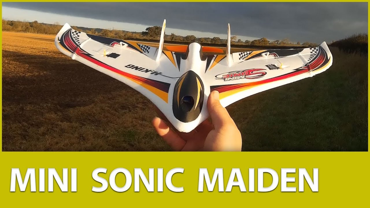Mini Sonic Flying Wing Maiden