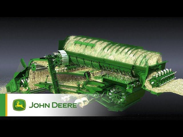 Układ młócący w kombajnach John Deere serii S