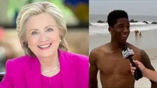 What Are Hillary and Trumps Best and Worst Qualities? Watters Asks the Folks...