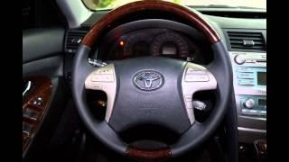 видео: Аквапринт салона Toyota Camry, тюнинг руля.