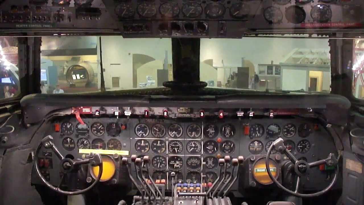 American Airlines Douglas Dc 7 Cockpit And Cabin Tour