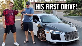 Surprising my Girlfriend's Dad with His Dream Car!