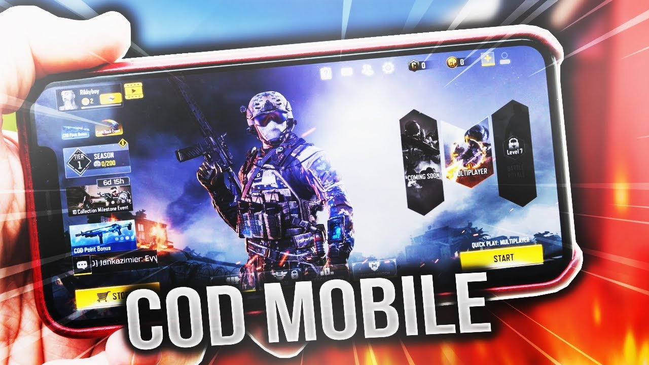 Call Of Duty Mobile Thumbnail Template Youtube