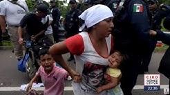 Detienen a 400 migrantes en la frontera sur de Mxico | Noticias con Ciro Gmez Leyva