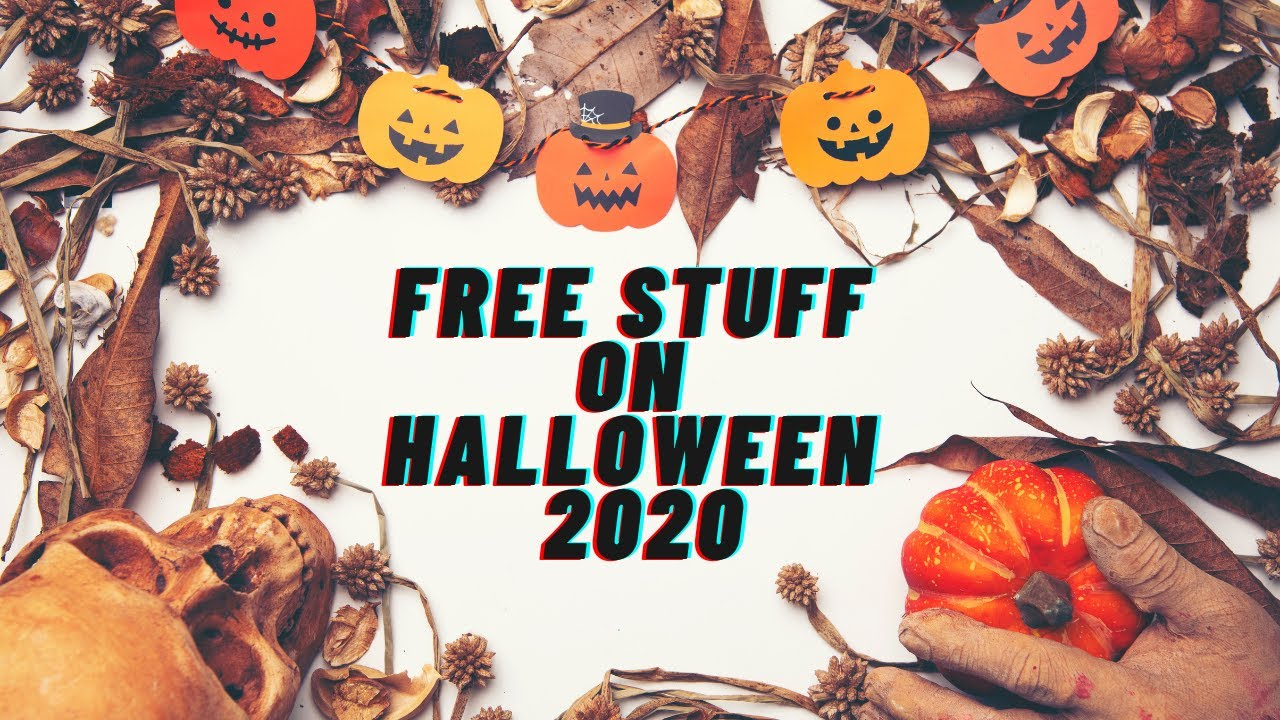 Freebies and deals for Halloween 2020