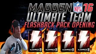CLUTCH FLASHBACK PULL!  FLASHBACK PACK OPENING #4- MADDEN 16 ULTIMATE TEAM FLASHBACK