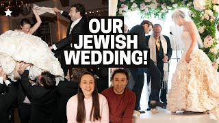 OUR JEWISH WEDDING! H๐w We Planned a Jewish Wedding (Ceremony, Ketubah, Traditions and more!)
