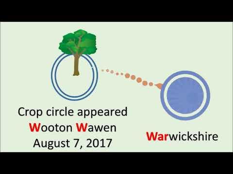 Warning of War? What's in August 7, 2017 Warwickshire crop circle