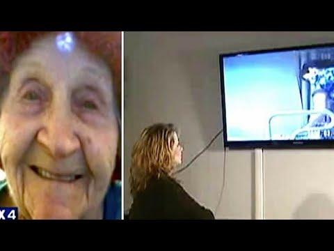 Huzurevinde kalan annelerinin odasına gizli kamera yerleştirdiler. Acı gerçekle yüzleştirler!