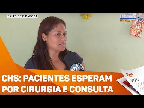 CHS: Pacientes esperam por cirurgia e consulta - TV SOROCABA/SBT