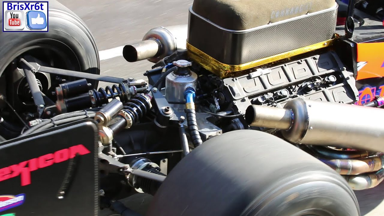 Chassis design of f1 car - Formula 1 Ex Judd V8 Stroked To 4 Litres Dallara Chassis Hillclimb Car