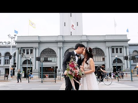A Modern Wedding Celebration in San Francisco's Ferry Building - Martha Stewart Weddings