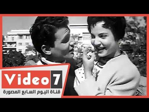 مفاجأة.. أبطال فيلم لحن الوفاء جيران في المقابر -حليم وشادية وحسين رياض-  - 14:00-2020 / 3 / 30