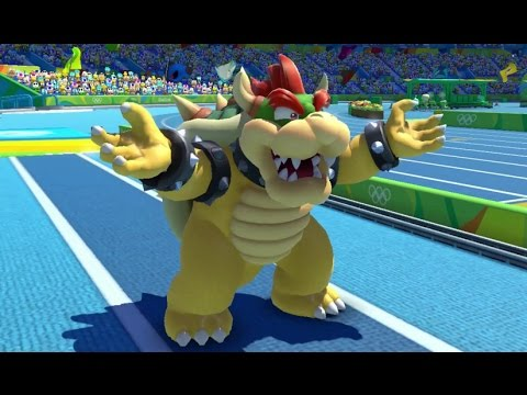 Mario & Sonic at the Rio 2016 Olympic Games - Triple Jump (Gameplay with All Characters)