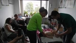 урок детского массажа обучение..курсы нянь..выдается сертификат