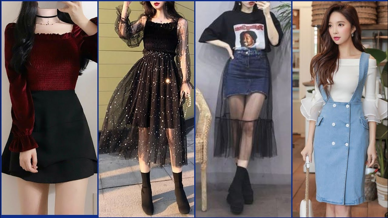Best Korean Outfit/dresses ideas 2021| Aesthetic How to look Korean || how to style like Korean 2021
