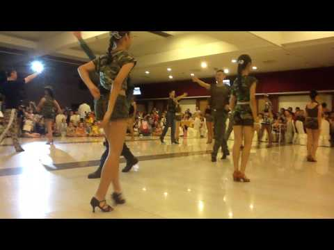Group Jive - Soilder Dance From MY Dancesport Studio (IPOH)