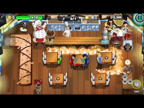 Diner Dash 2015 - Could It Be Wurst? (level 240) (2/3 Stars)