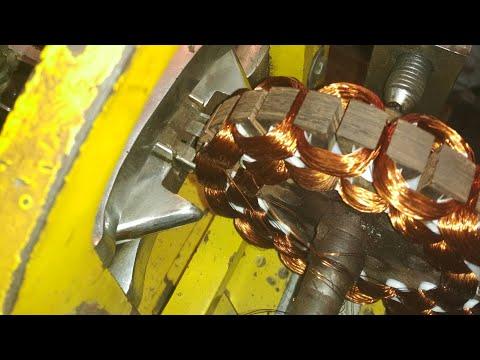 Celling fan automatic motor winding machine