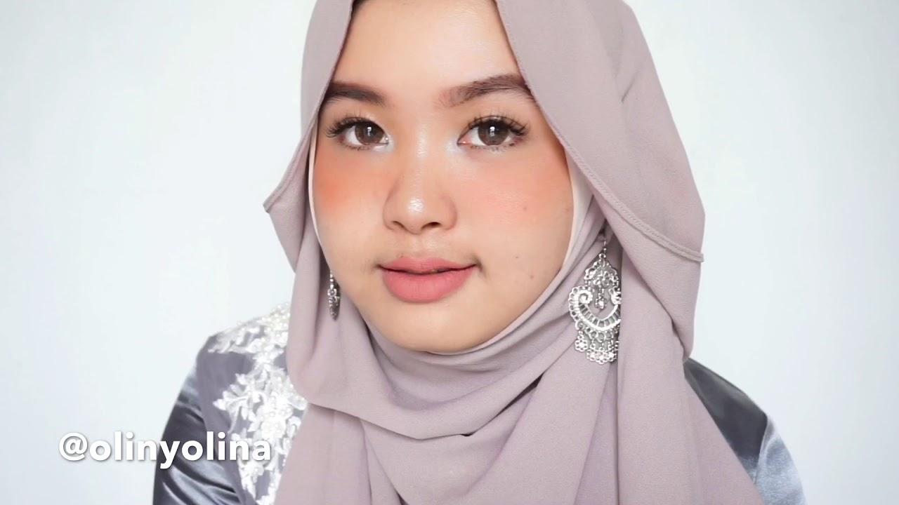 29 Tutorial Hijab Wisuda Simple Modern Pashmina Segi Empat