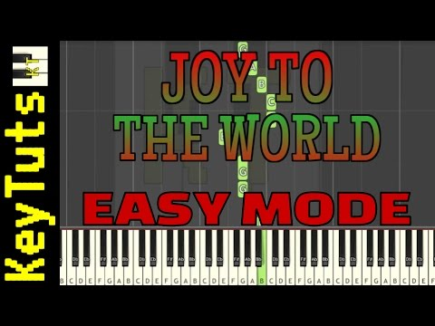 Learn to Play Joy to the World - Easy Mode