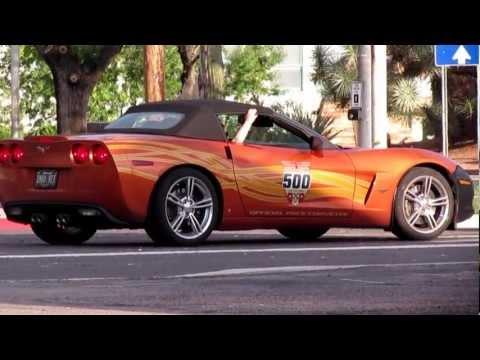 2007 INDY 500 PACE CAR ~ ORANGE CHEVY CORVETTE